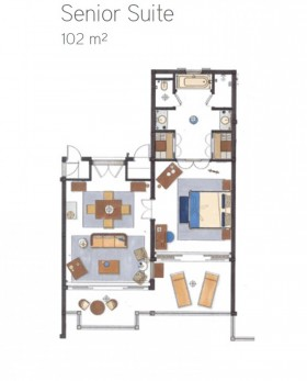 Senior Suite Seaview (102 m2)