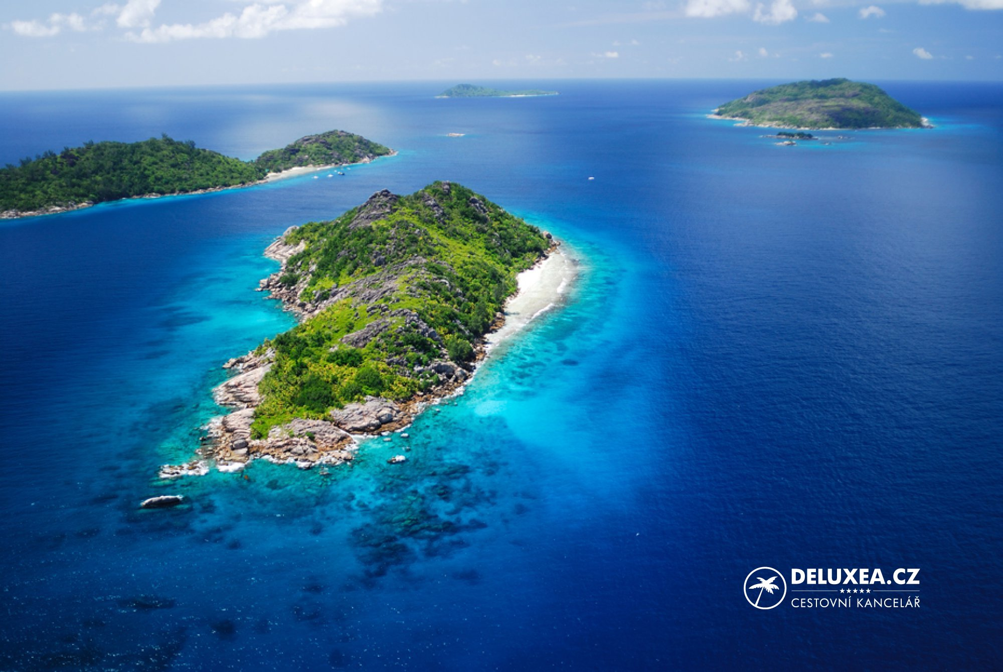 Mapa Seychely Kde Lezi Seychelske Ostrovy Deluxea